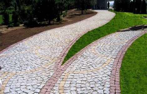 Устройство каменных покрытий