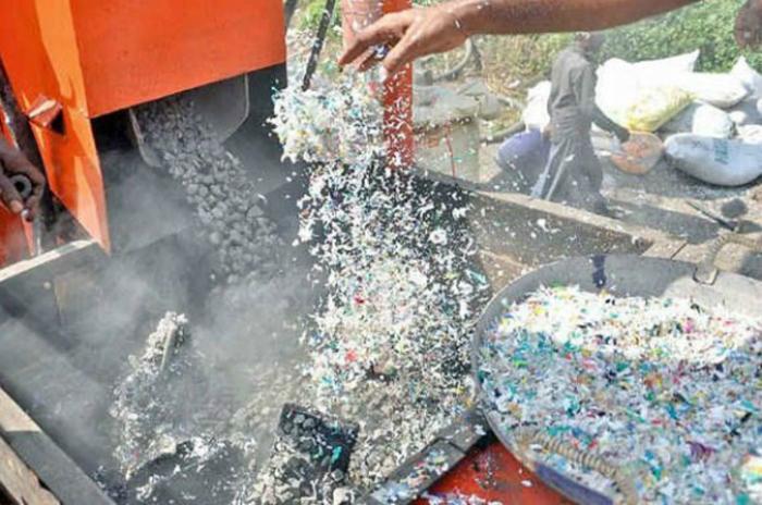 Дорожное покрытие из пластика