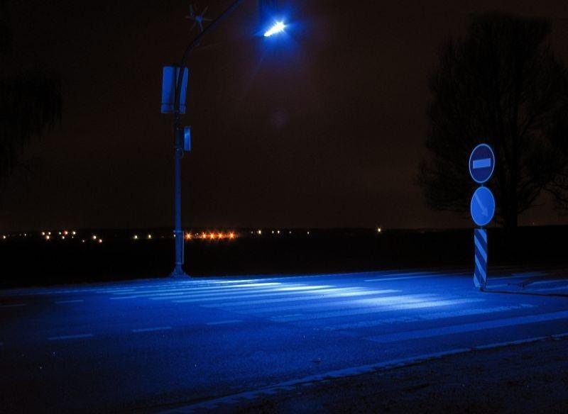 Освещение пешеходных переходов