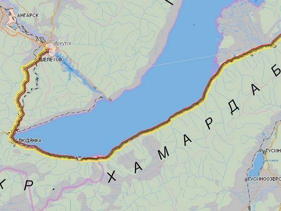 Автотрасса «Байкал»