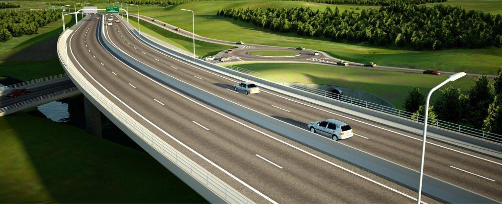 Проектирование строительства автомобильных дорог