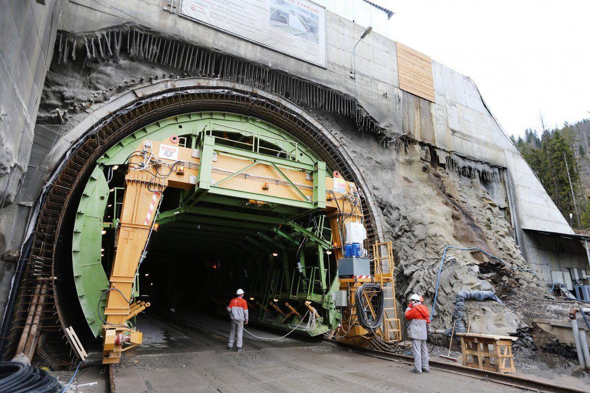 Строительство транспортных тоннелей