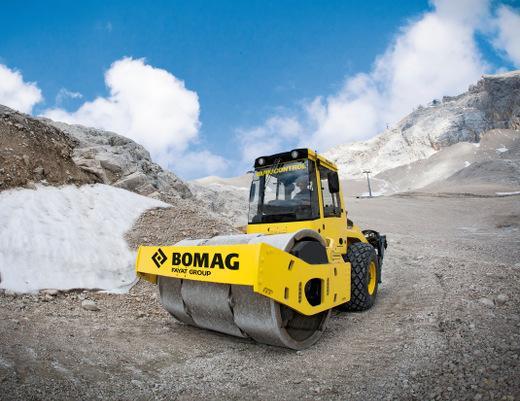 Сравнение грунтовых катков Bomag и Hamm