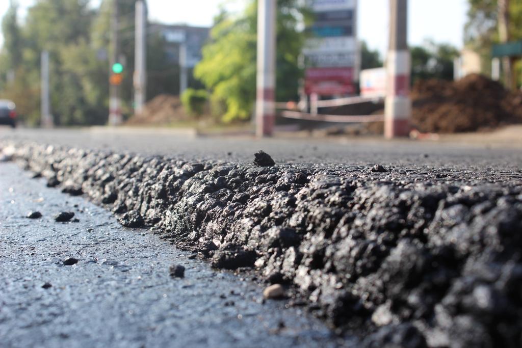 Асфальт на бетонном основании