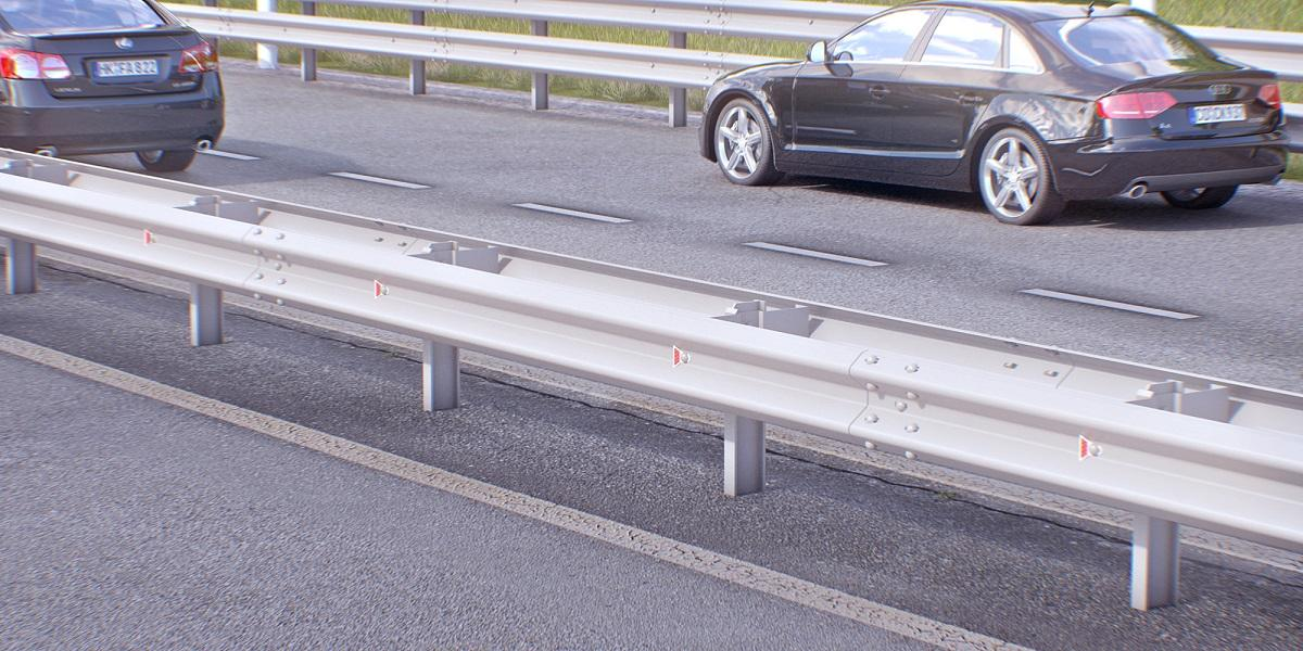 Типы дорожных ограждений